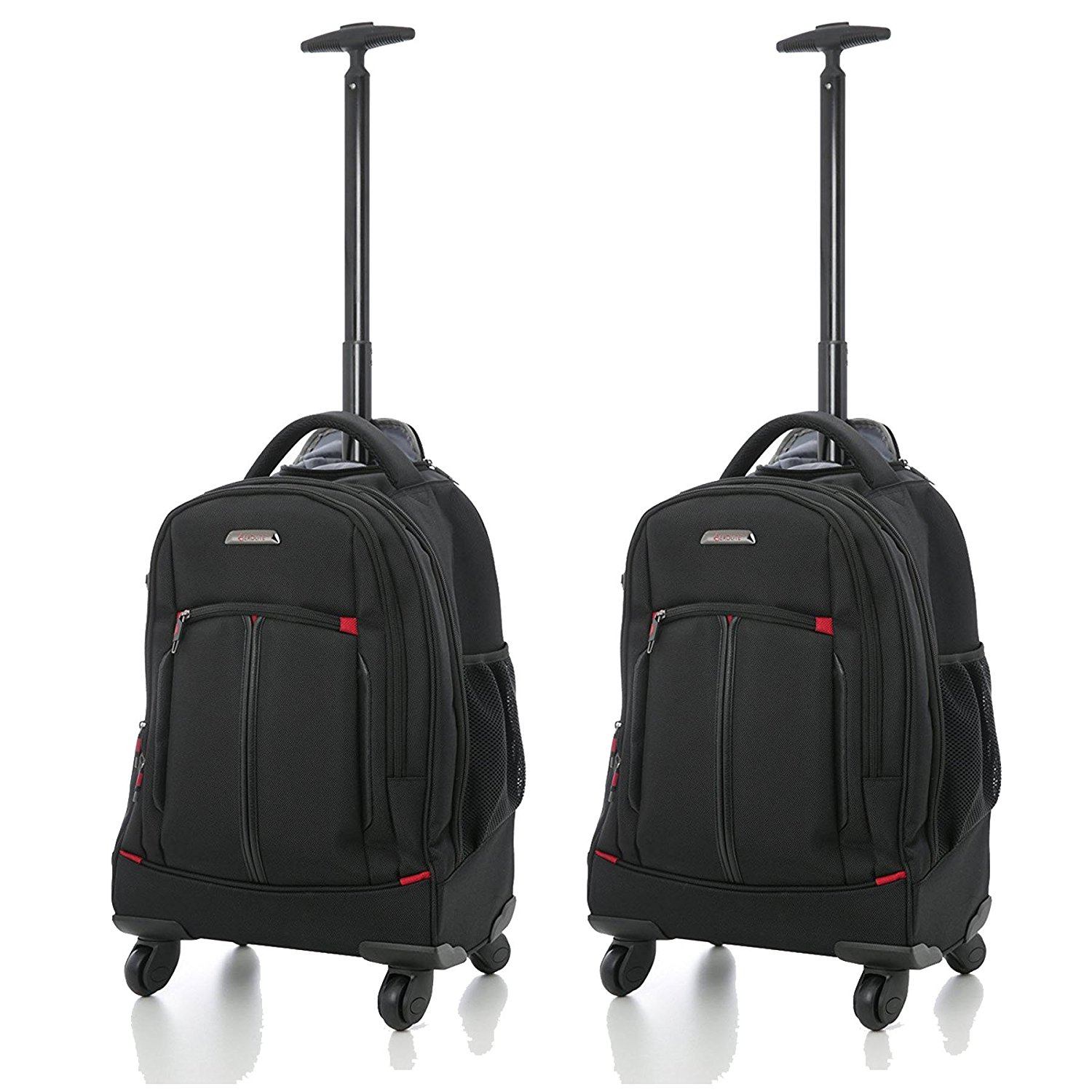 "Aerolite 21"" 55cm 4 Wheel Trolley Executive Laptop Shoulder Bag"