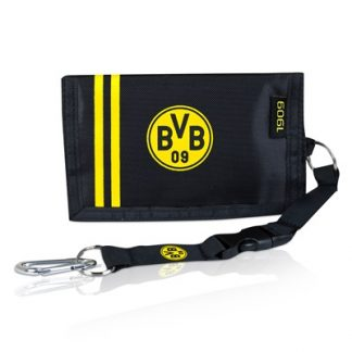 BVB 1909 Wallet with Carabiner Clip