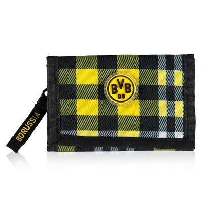 BVB Plaid Wallet