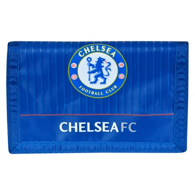 Chelsea Wallet - Blue/Red