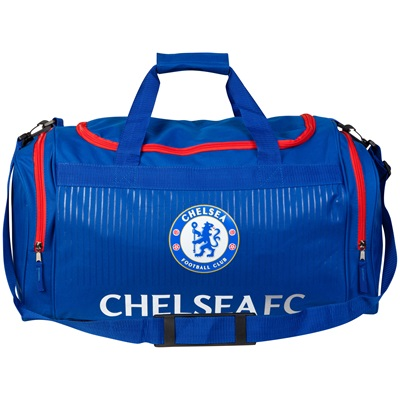 Chelsea Holdall - Blue/Red