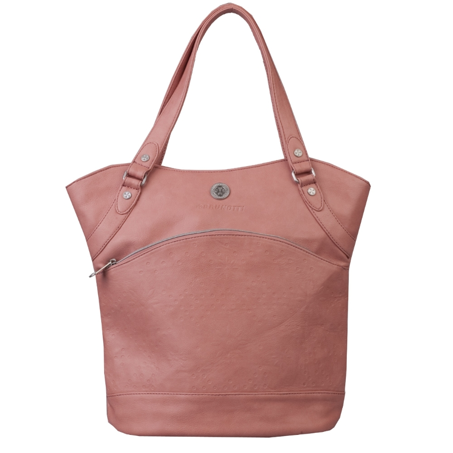 Brunotti Dusty Pink PU Shopper Bag BB4106-303