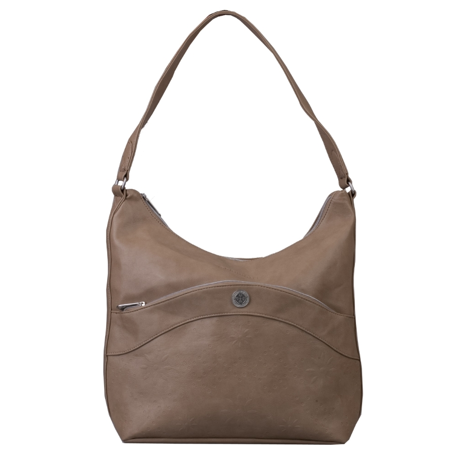 Brunotti Taupe PU Hobobag BB4107-802