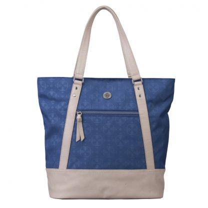 Brunotti Blue Beige Shopper Bag BB4115-505