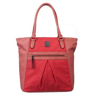 Brunotti Soft Red PU Shopper Bag BB4123-803