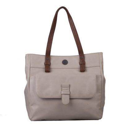 Brunotti Off White PU Shopper Bag BB4131-003