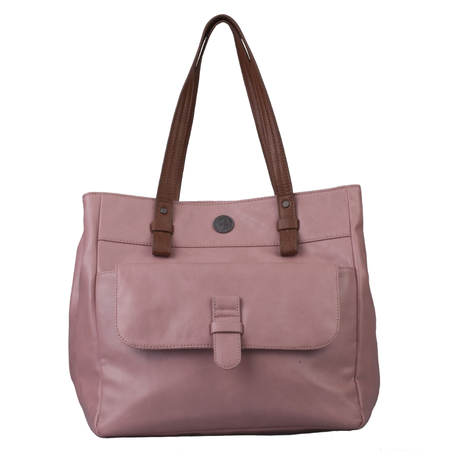 Brunotti Sort Pink PU Shopper Bag BB4131-304
