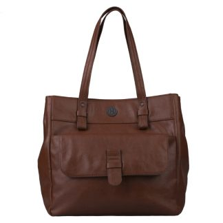 Brunotti Dark Brown PU Shopper Bag BB4131-804