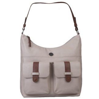 Brunotti Off White PU Hobo Bag BB4132-003