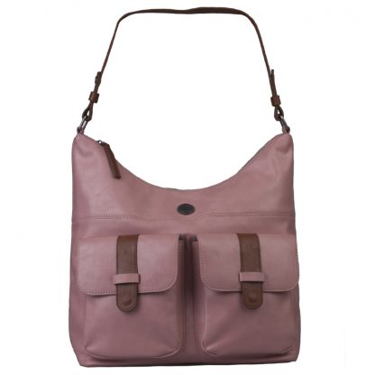 Brunotti Soft Pink PU Hobo Bag BB4132-304