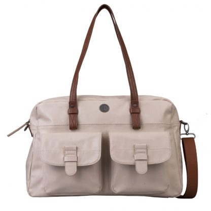 Brunotti Off White PU Carry All Bag BB4133-003