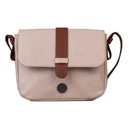 Brunotti Off White PU Shoulder Bag BB4135-003