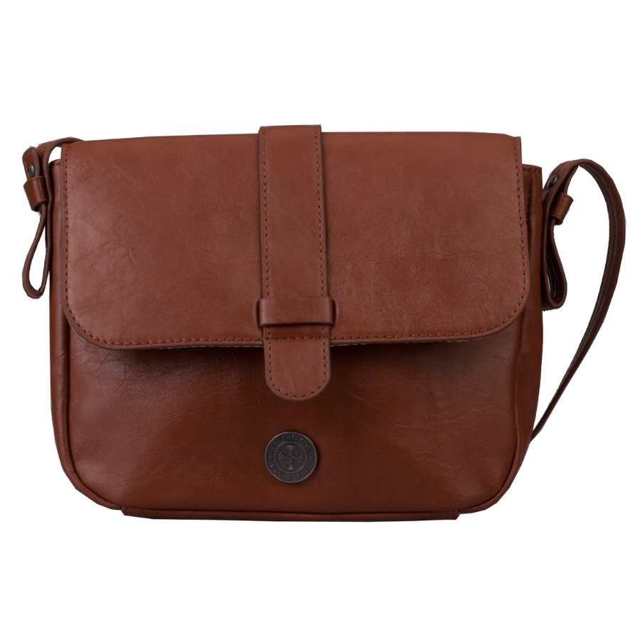 Brunotti Dark Brown PU Shoulder Bag BB4135-804