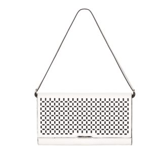 Fiorelli Dixie White Cut Out Clutch Bag FH8001-WHITE CUT OUT
