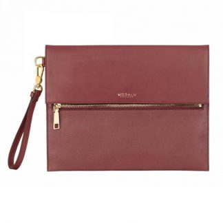 MODALU Erin Ladies Red Clutch Bag MH4761 CLARET R