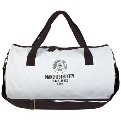 Manchester City Retro Duffle Bag