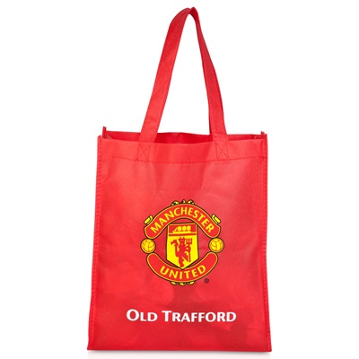 Manchester United Reusable Tote Bag - Red