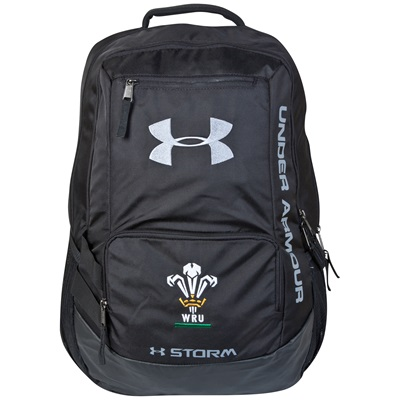 Wales Rugby Rugby Hustle Backpack Black