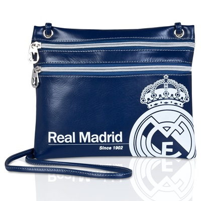 Real Madrid Mini Shoulder Bag - Blue/Silver